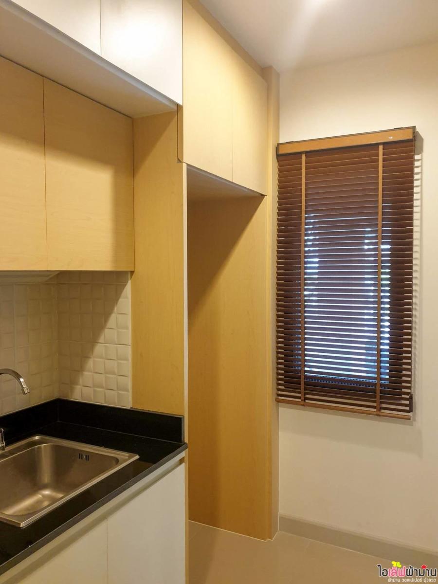 มู่ลี่ไม้ ในห้องครัว บ้านเดี่ยว Venue พระราม 5